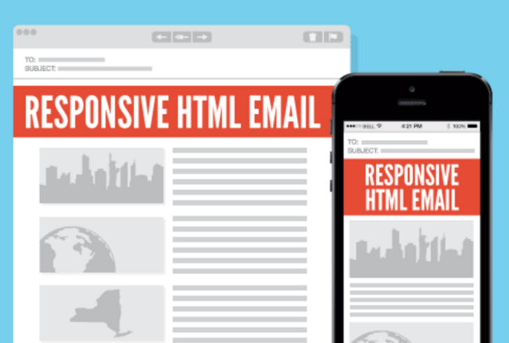 html custom email marketing